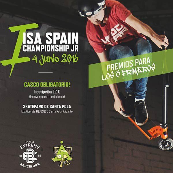 campeonato de patinetes ISA 2016
