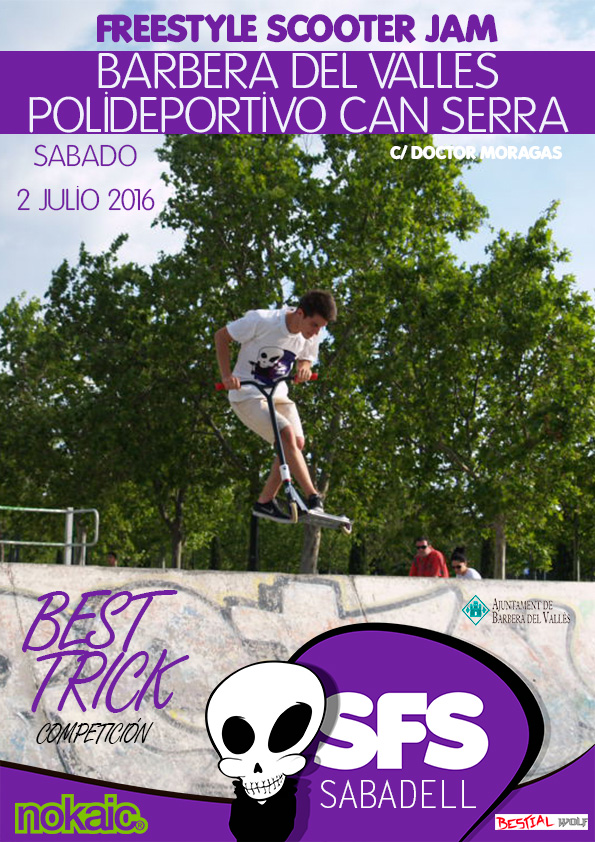competición scooter patinetes